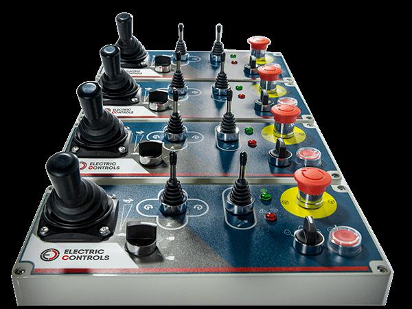 Caja de mandos fabricadas por Electric controls