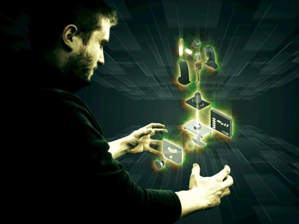 Electric controls diseño 3D