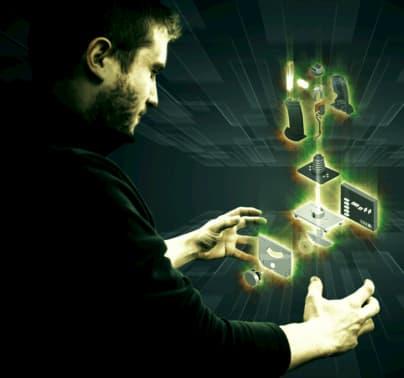 Joysticks por piezas 3D